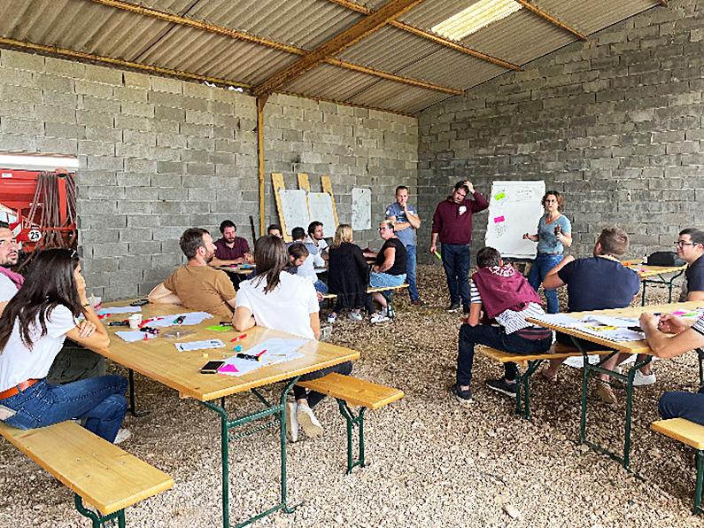 Jeunes agriculteurs Moment d'échange et de partage